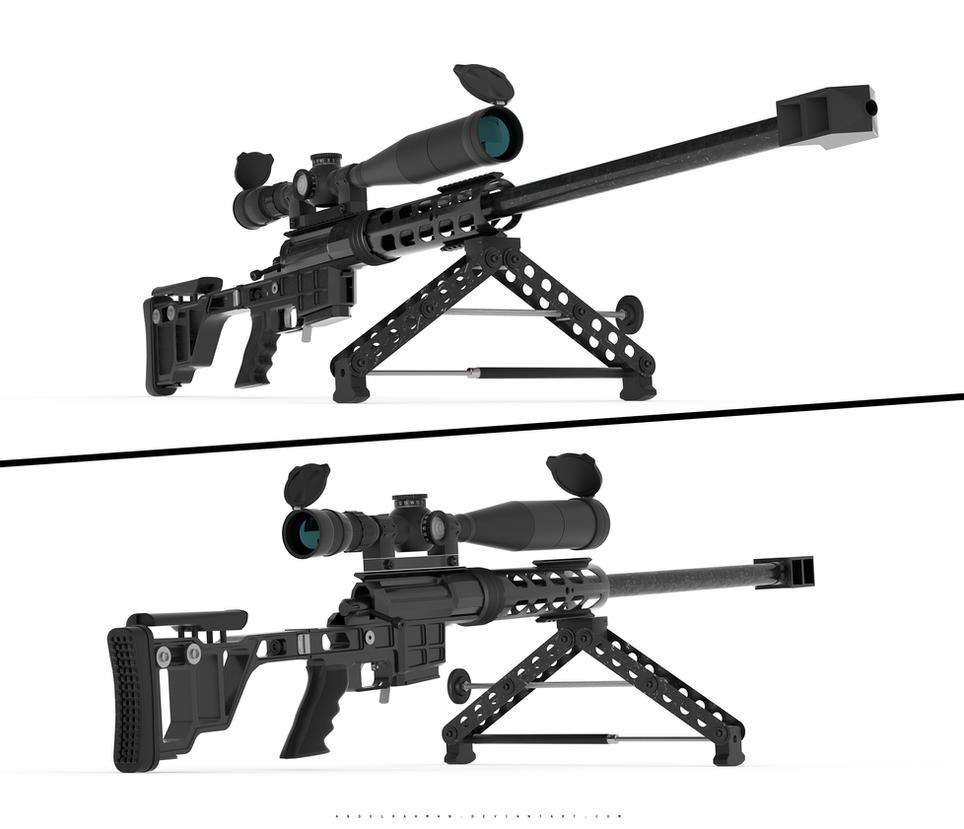 DVL10 Sniper Rifle by abdelrahman