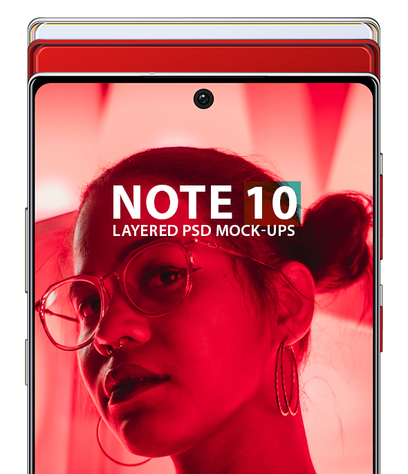 Note 10 3D Models - 1