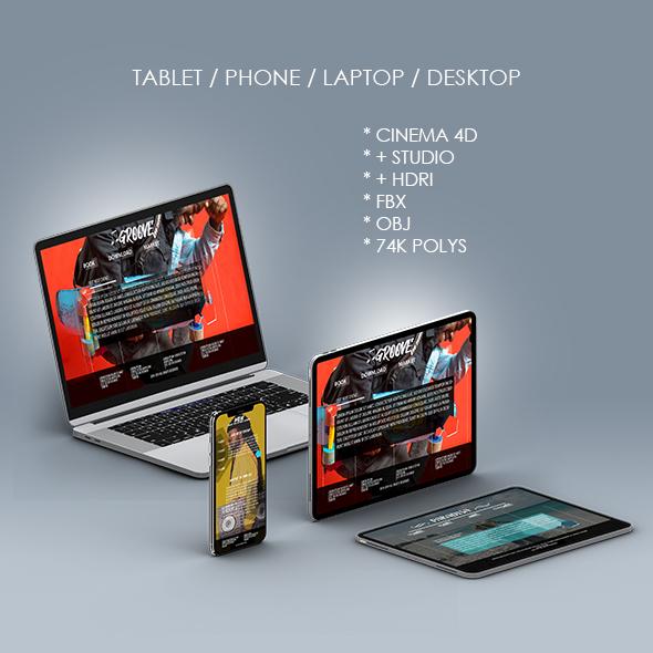 Smart Watch for Element 3D & Cinema 4D - 2