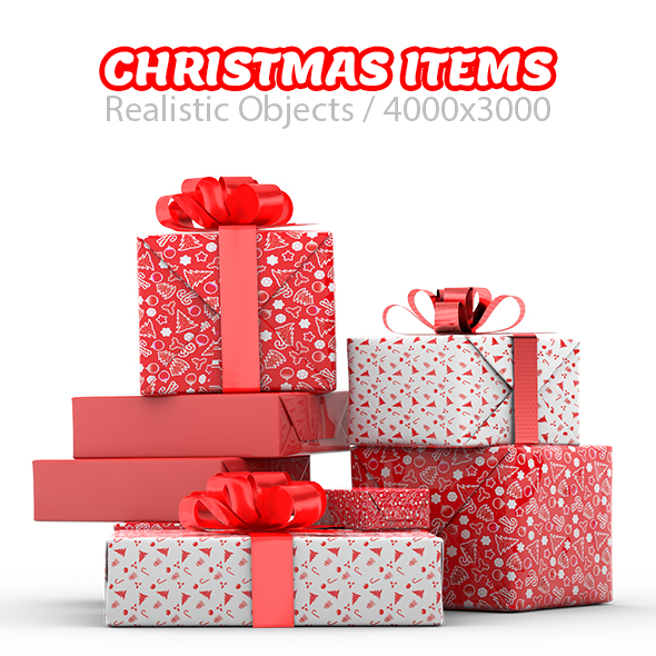 Realistic Decorated Christmas Trees - 2
