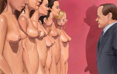 Berlusconi by QuilesART
