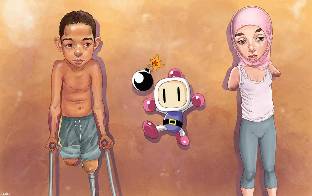 Bomberman by QuilesART