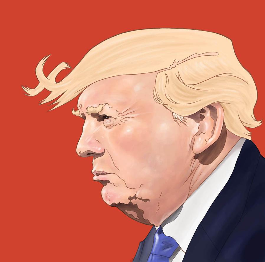 Make America hate again by QuilesART