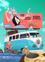 The lost boys comic book