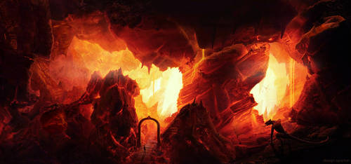 Entering in New Hell by DesignSpartan
