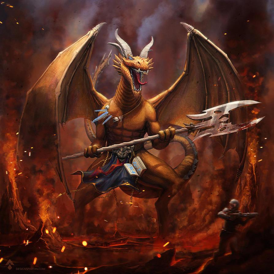 Draconian Final Designspartan Golden Knights