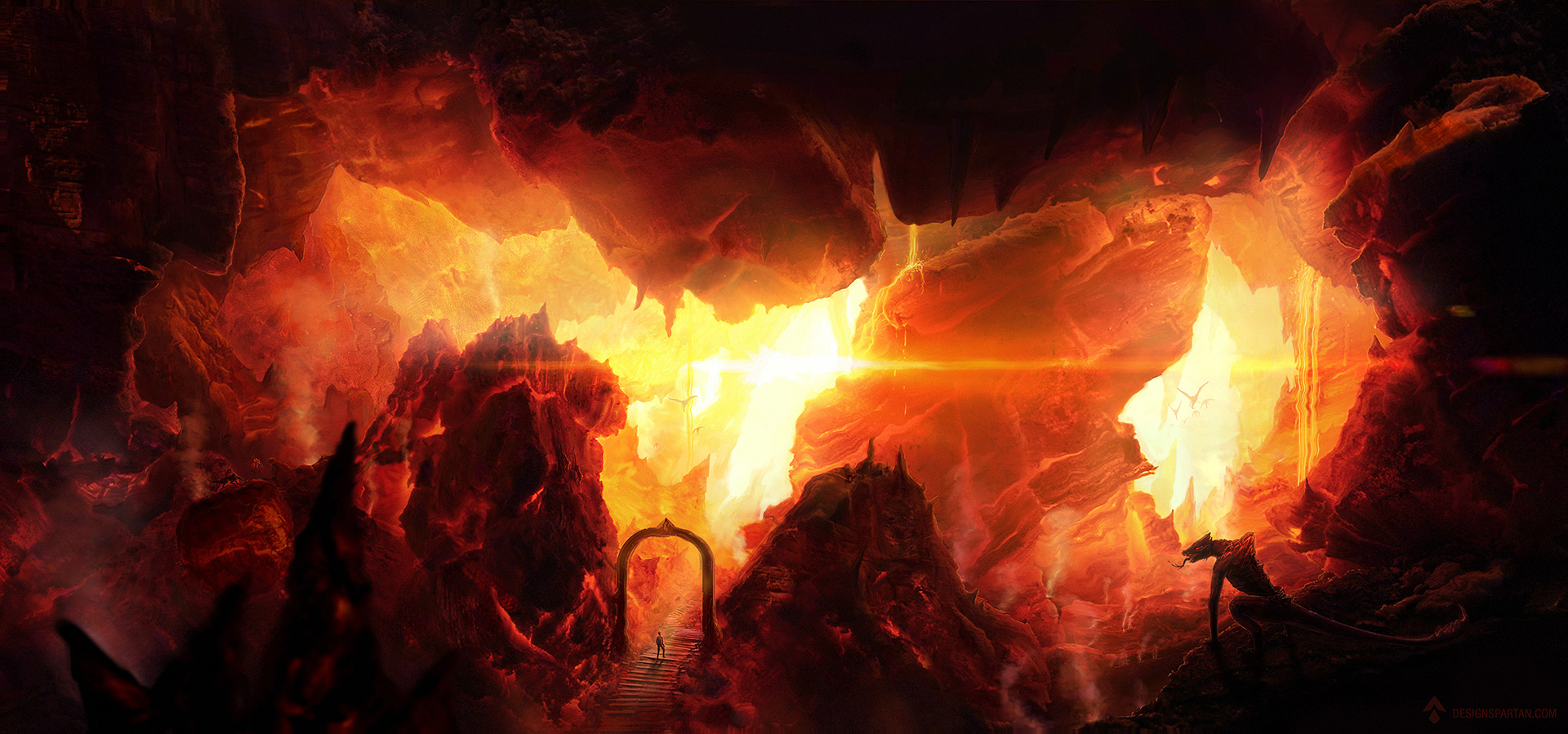 Entering in New Hell (2013 update) by DesignSpartan on ...