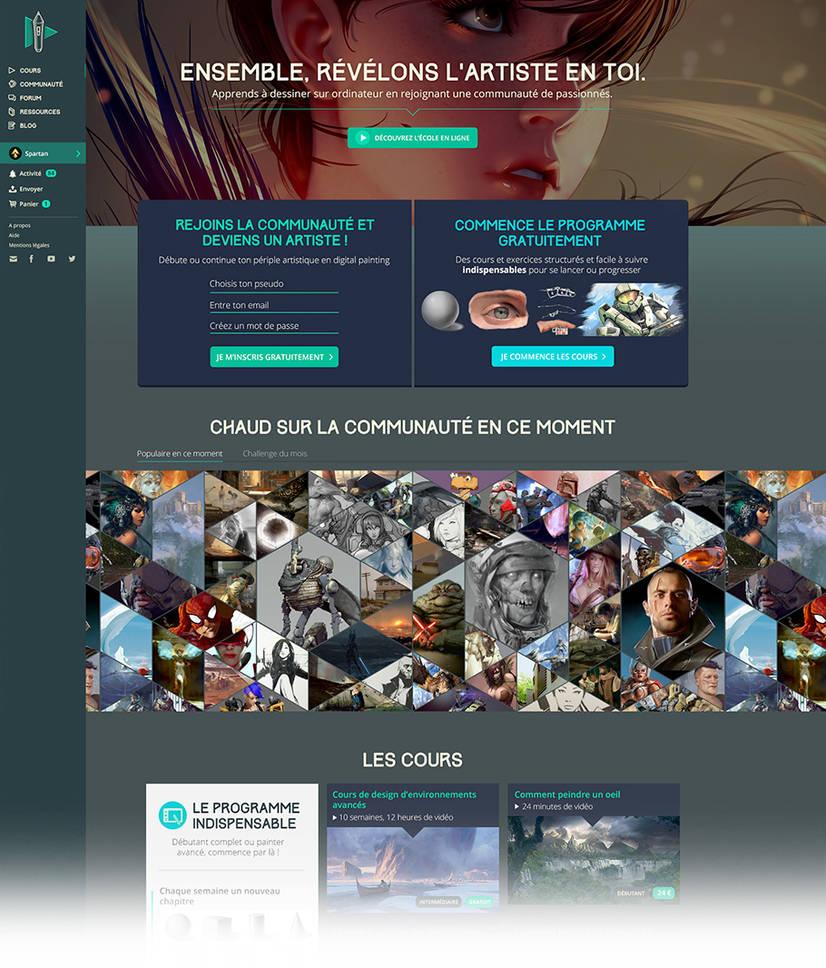 01-digitalpainting by DesignSpartan