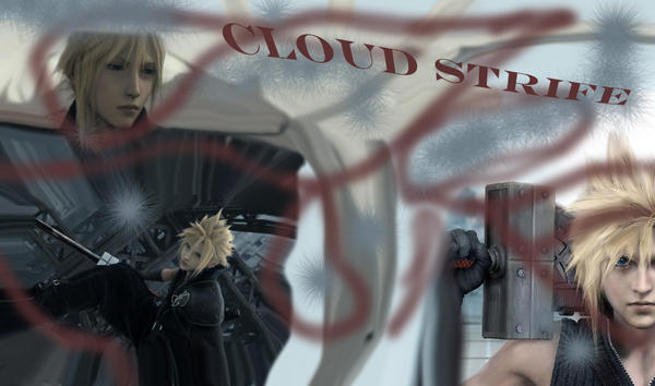 cloud strife wallpaper. Cloud Strife Wallpaper by