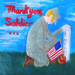 Thank you, Soldier