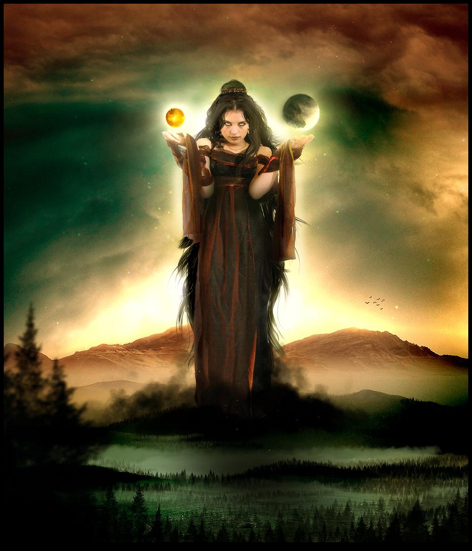 Eris, goddess of strife by VP-Manips on DeviantArt