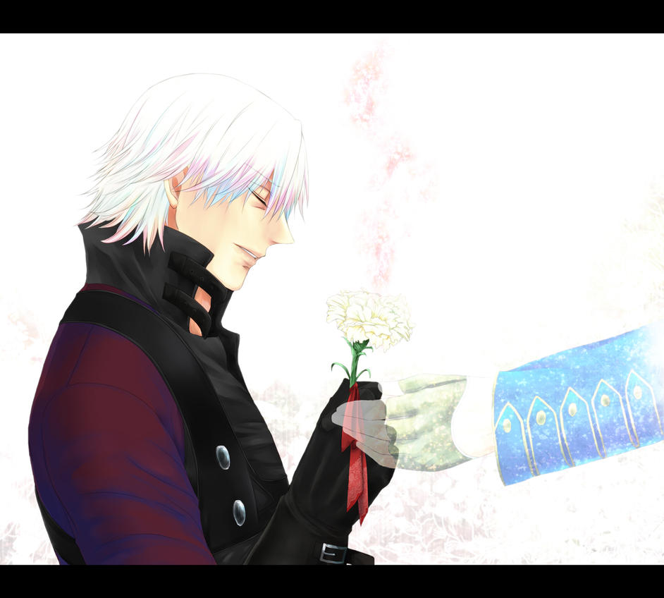 Meant To Live (CUT FROM FANFICTION) Dante/Vergil By