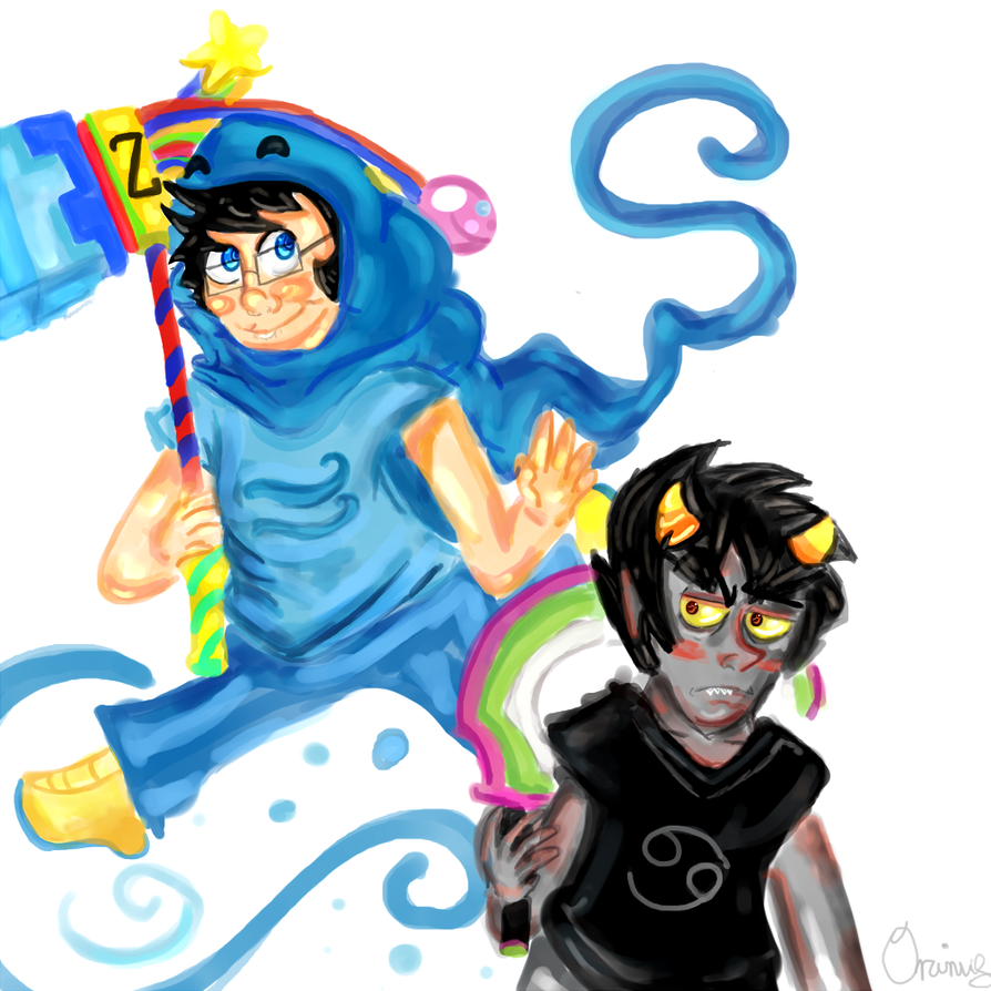 Karkat John Livejournal John And Karkat by 0rcinus
