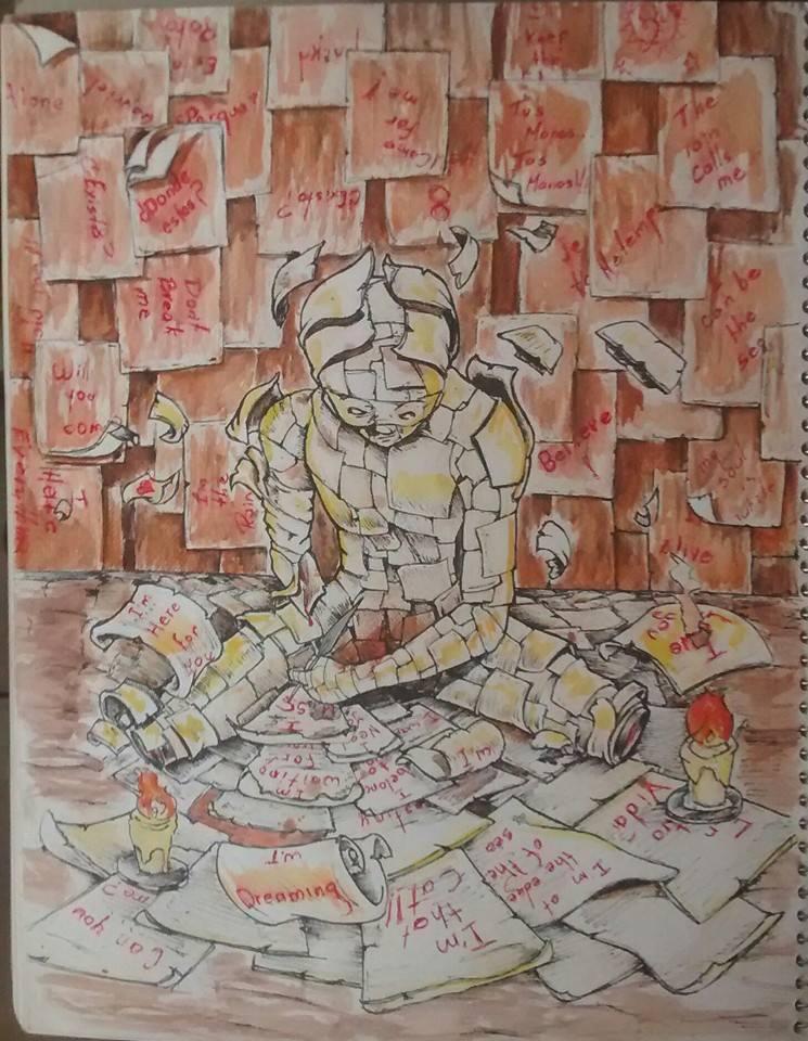 El Escribano by G4RR1CK