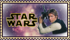 (Star Wars) Han Solo Stamp by Lady-Valentine-Art83