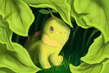 Grass Turtle by Kravuus