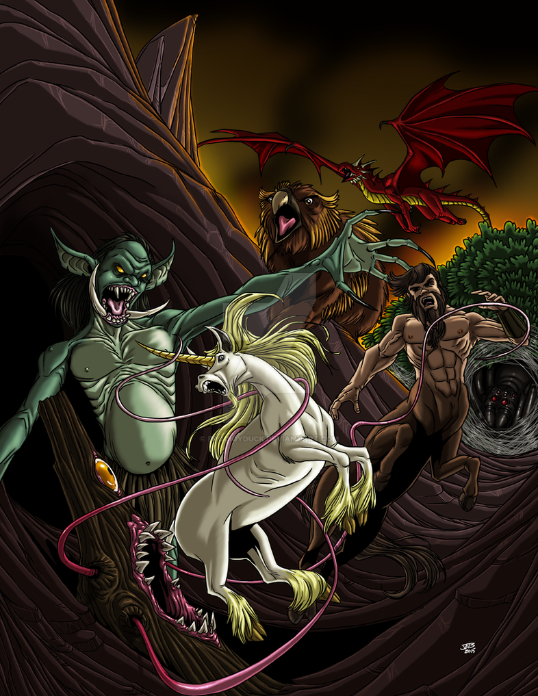 Super Powered Bestiary Cover by ProdigyDuck