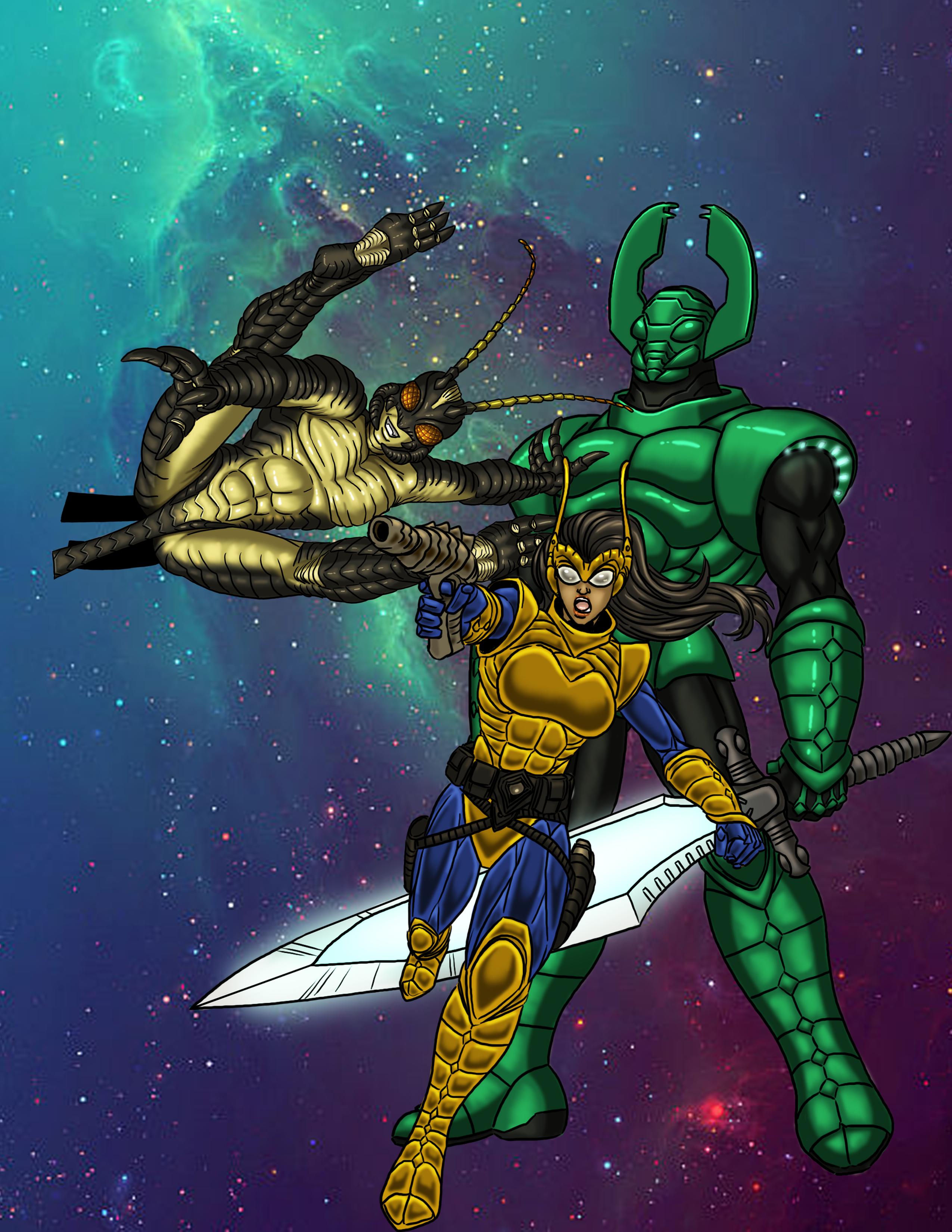 Super Powered Legends: Nanoverse Rebels