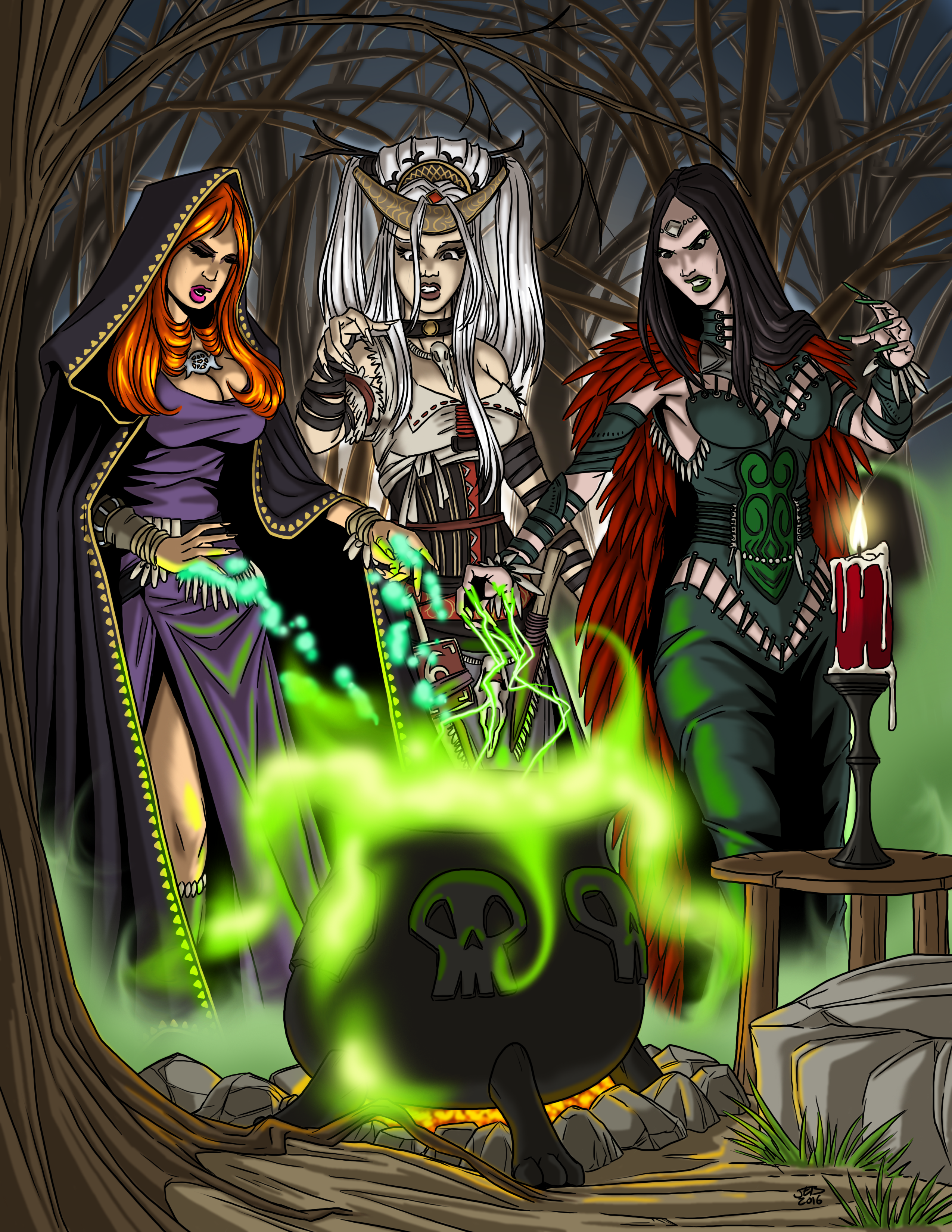Tabletop Witch Coven