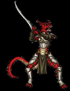 Female Kobold Fighter