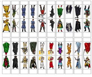 Dead Gentlemen Paper Figure Sheet