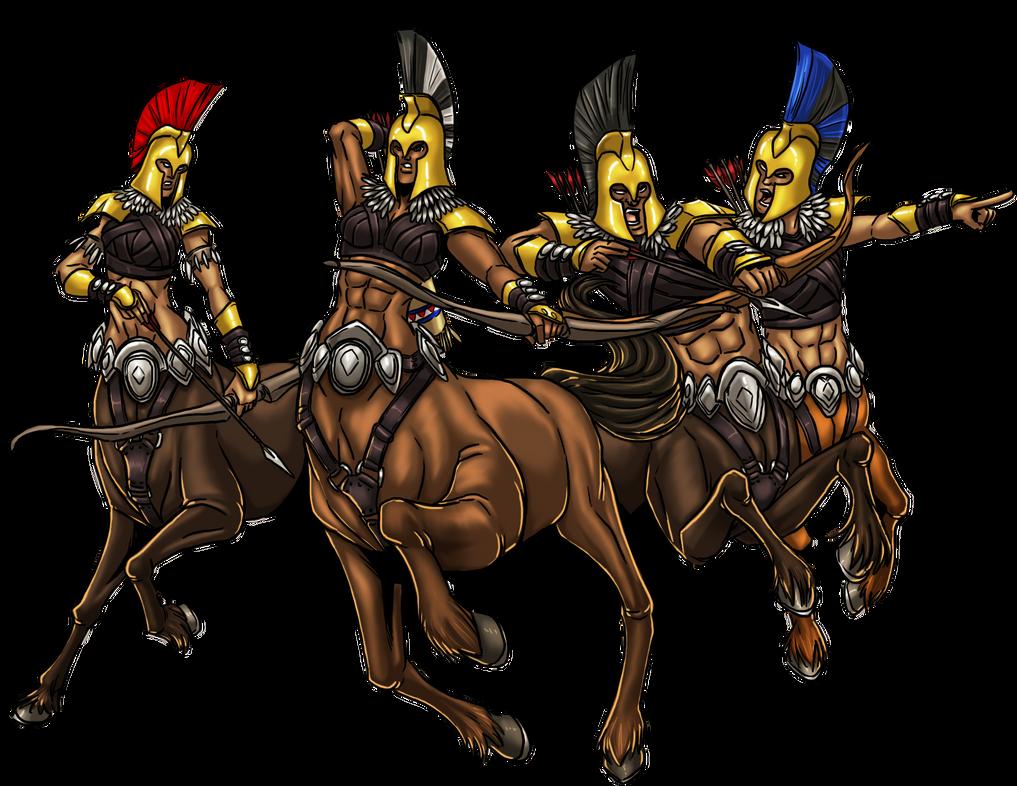 Centaur Warband by ProdigyDuck on DeviantArt