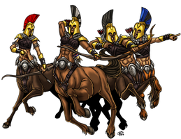Centaur Warband by ProdigyDuck