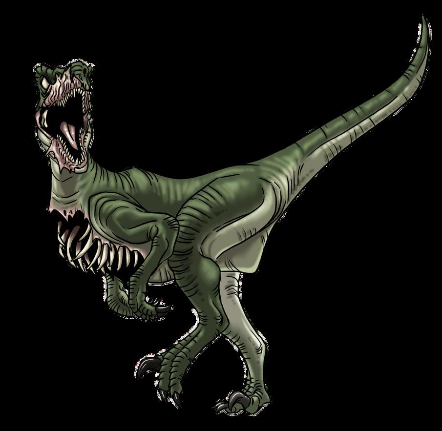 Dino Zombie Raptor By Prodigyduck