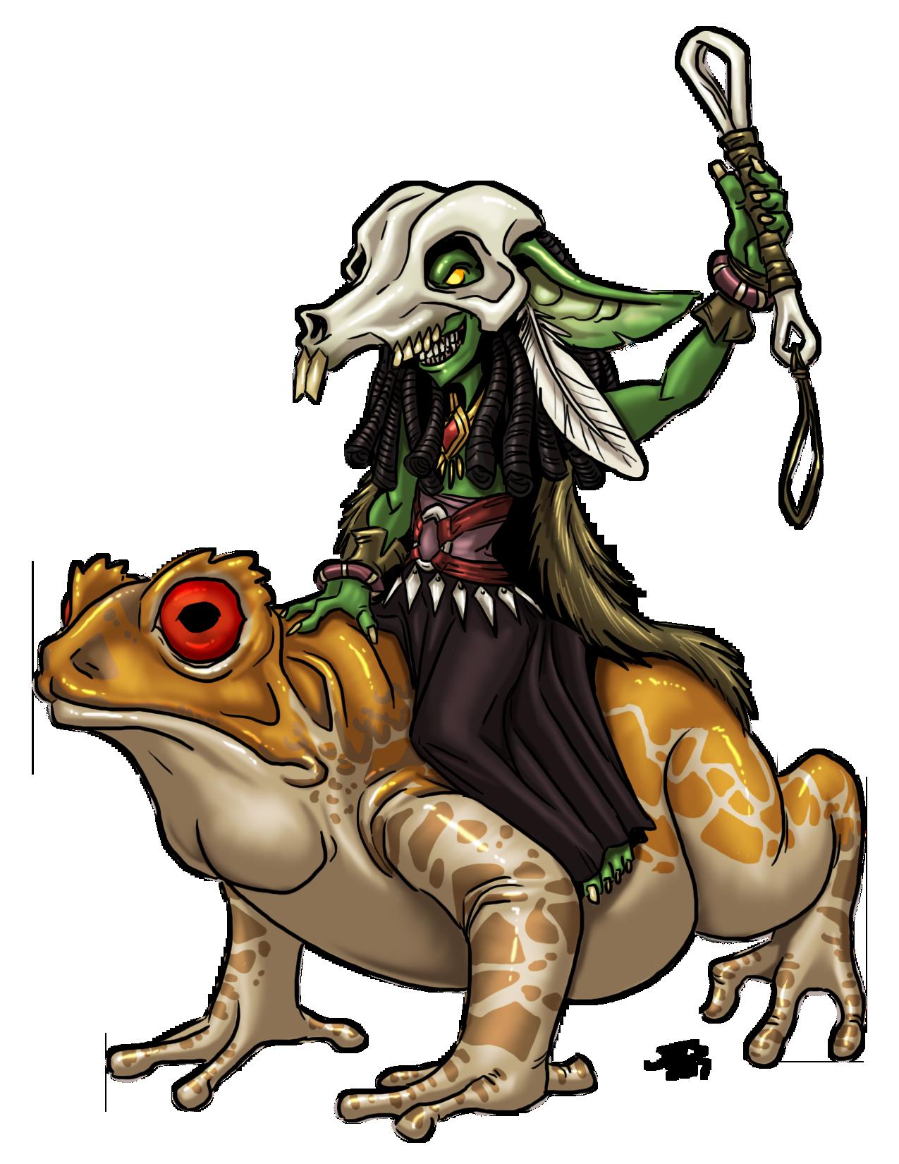 Nik Nak: Goblin Warlock