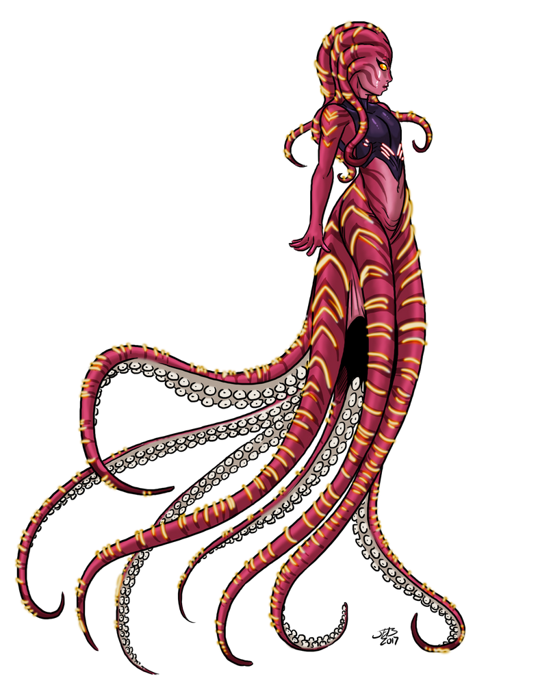 Young Scyleen by ProdigyDuck