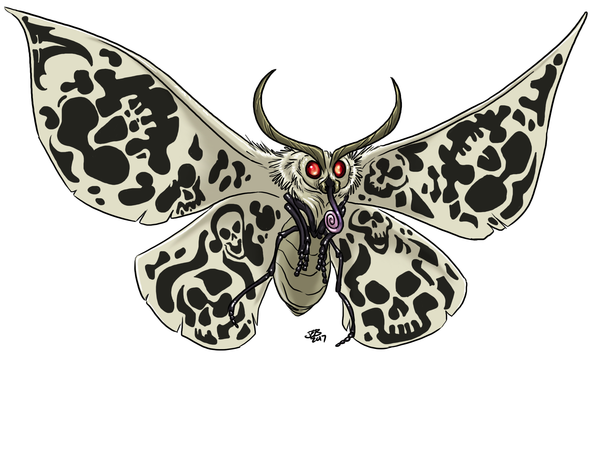 Daemon, Cacodaemon by ProdigyDuck
