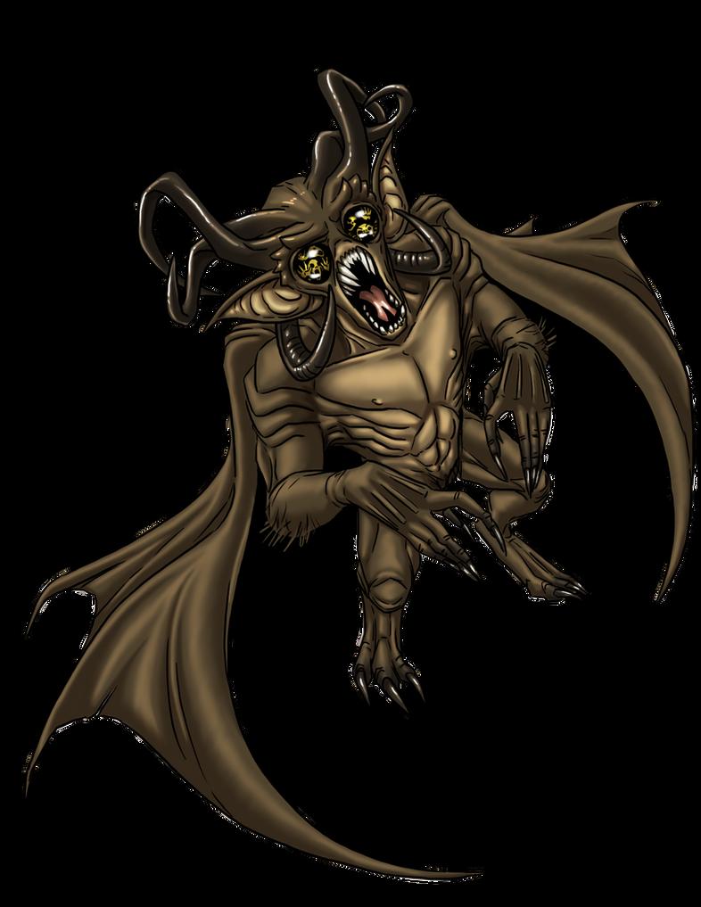 Demon, Nabasu Mutagenic by ProdigyDuck