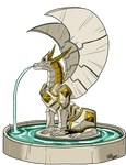 Dragon, Alabaster Guardian