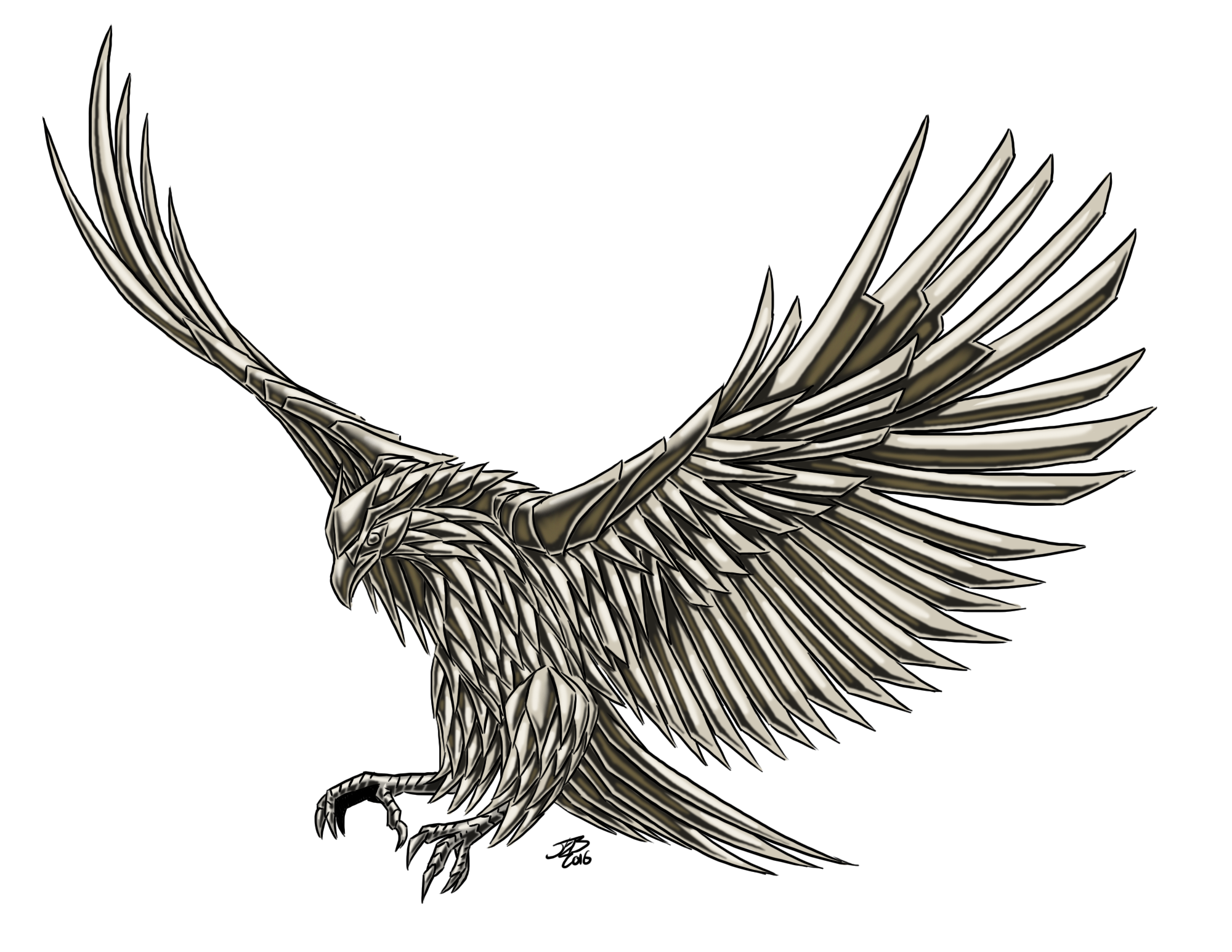 Eagle, Iron by ProdigyDuck