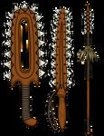 Sharktooth Weapons