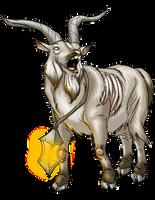 Ravensburg: Lantern Goat by ProdigyDuck