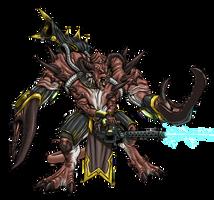 Glabrezu CyberDemon Lord by ProdigyDuck
