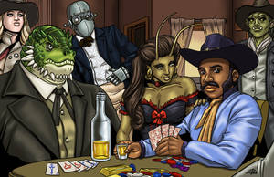 Real Wild West Gambler by ProdigyDuck