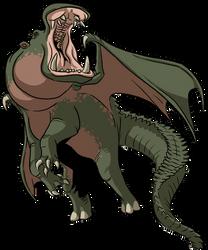 Griffmeras: Dracopotamus by ProdigyDuck