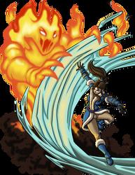 Ally Vs Fire Elemental