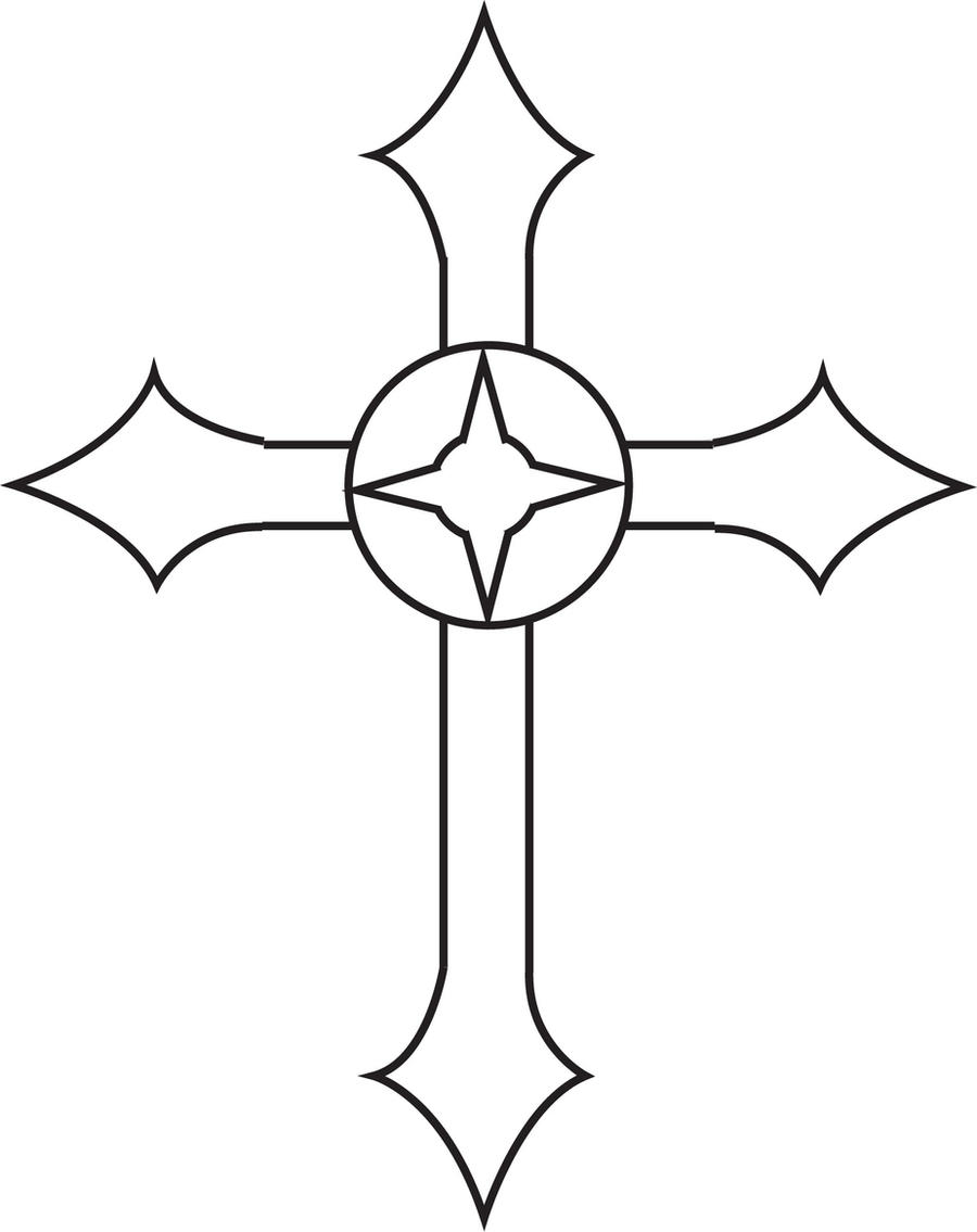 Metal cross design 1 by Oakheart12 on DeviantArt