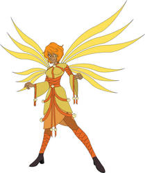 Sun fairy design