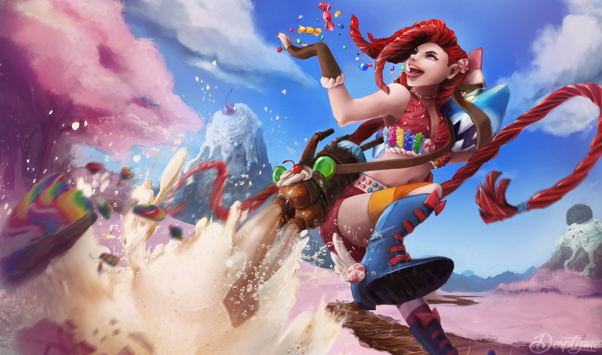 Sugar Rush Jinx by SourTea