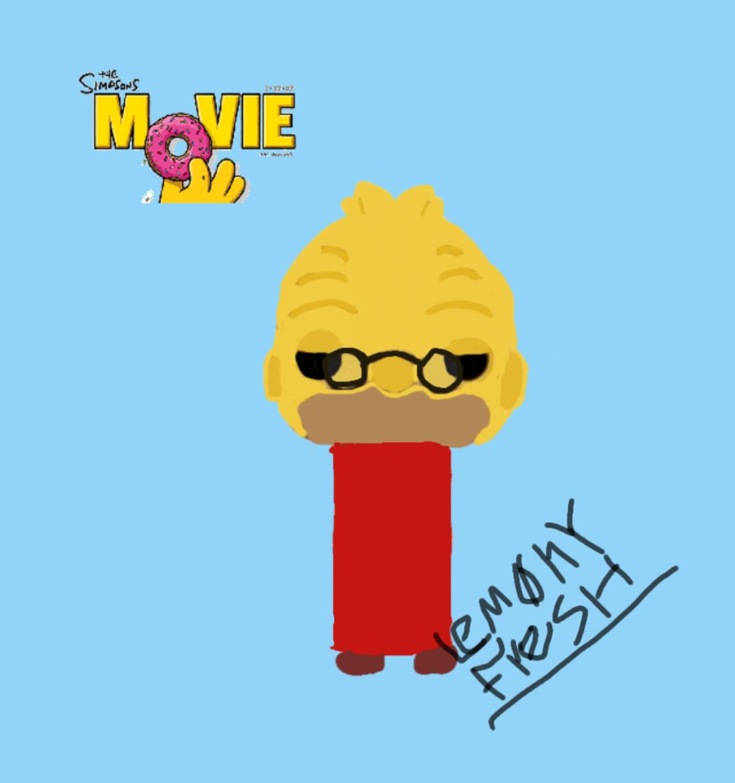 Custom The Simpsons Movie Grandpa Funko Pop By Lem0nyfresh On Deviantart