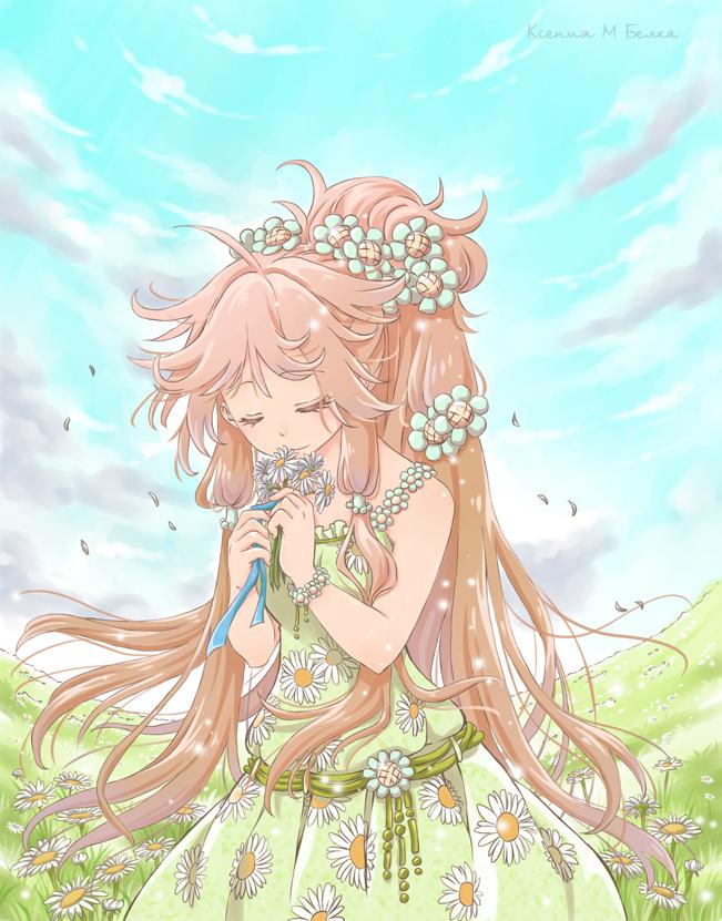 Maiden chamomile by Ksenia-Kudo