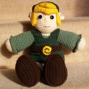 Crochet Link Sitting