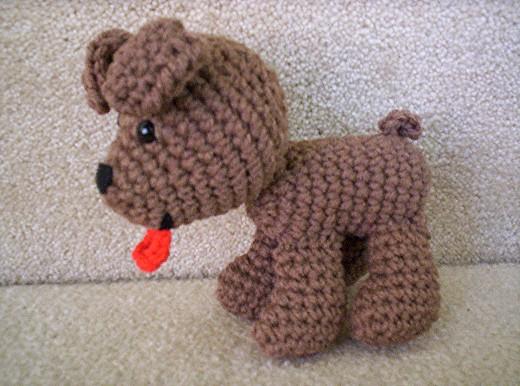 Boney the Crochet Dog by BunnieBard on DeviantArt