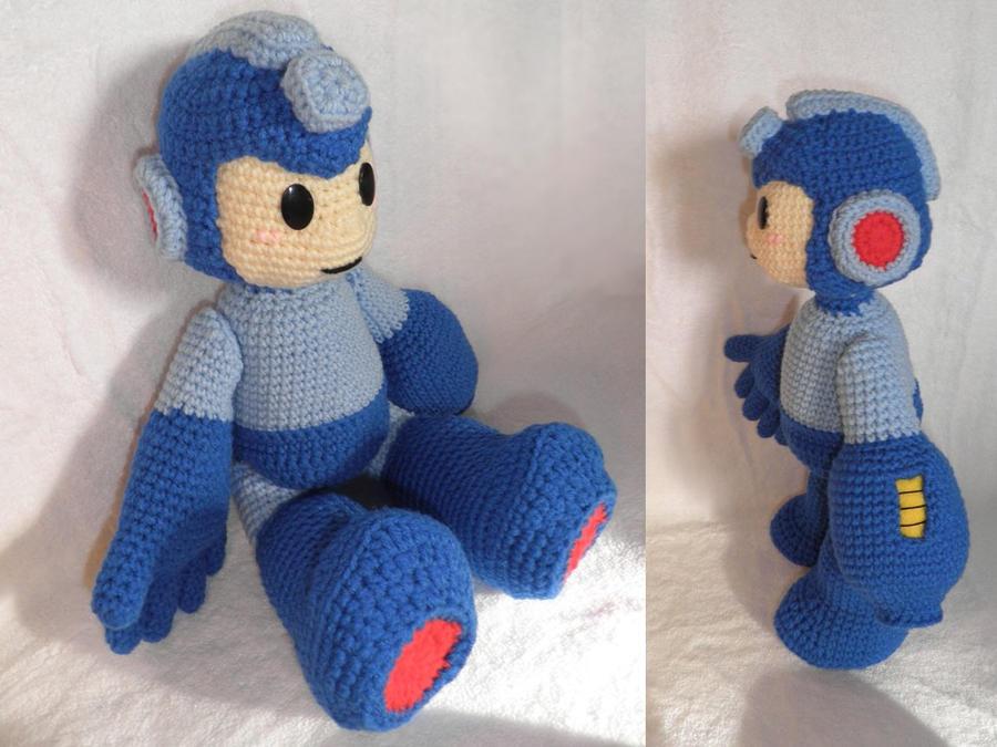 Mega Man Amigurumi By Bunniebard On Deviantart