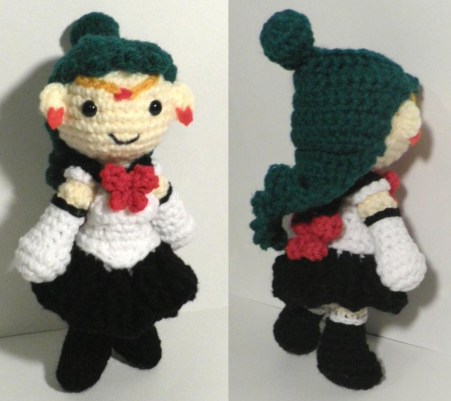 Sailor Pluto amigurumi by BunnieBard on DeviantArt