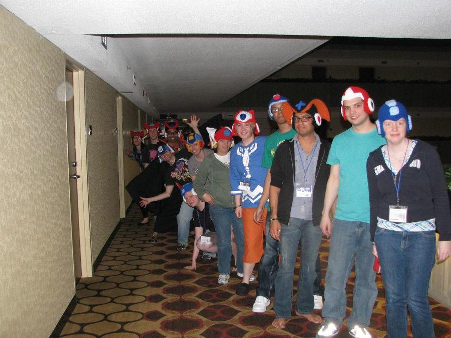 Every Single Mega Man Hat In Crochet By Bunniebard On Deviantart